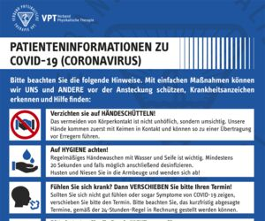PATIENTENINFORMATION ZU COVID-19